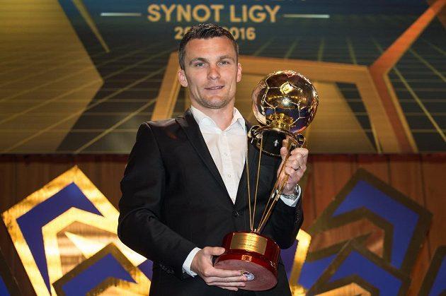 Nejlepší střelec ligového ročníku 2015/16 David Lafata.