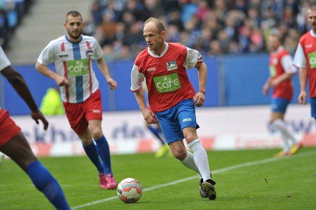 David Jarolím při své fotbalové benefici v Hamburku.