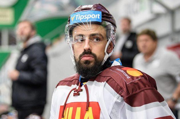 Richard Jarůšek ze Sparty Praha během v Mladé Boleslavi.