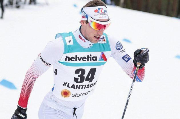Martin Jakš při klasické patnáctce na MS v Lahti.