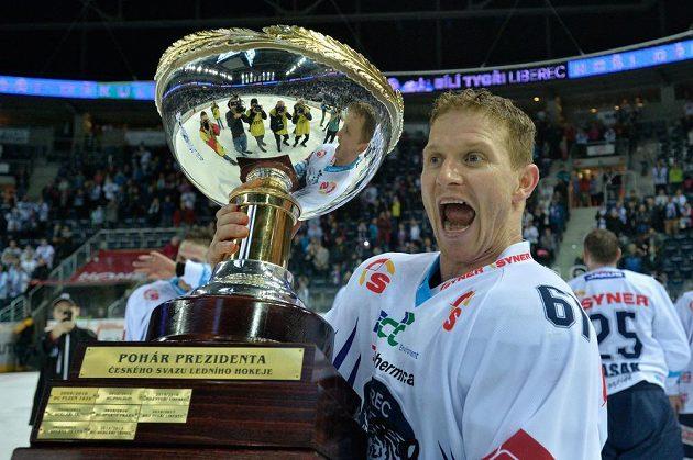 Milan Bartovič z Liberce s Prezidentským pohárem.