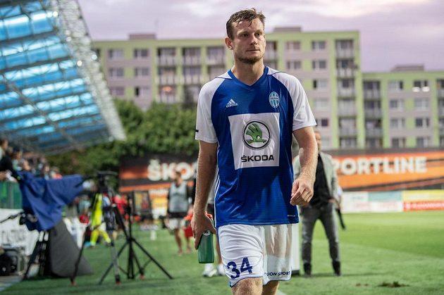 Antonín Křapka z Mladé Boleslavi po utkání se Slavií.