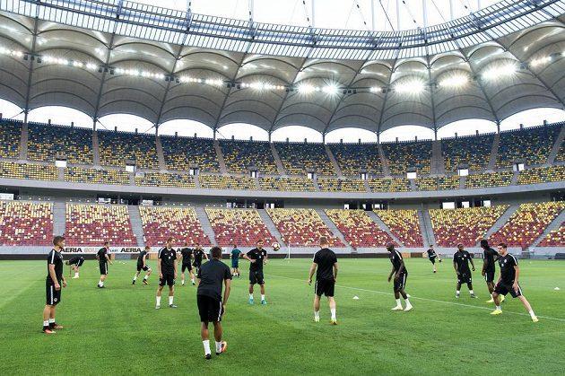 Fotbalisté pražské Sparty se v Bukurešti chystají na odvetu se Steauou.