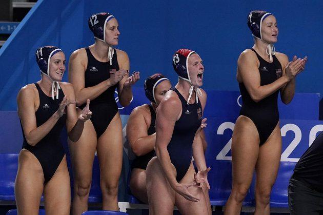 Americké vodní pólistky ve finále her v Tokiu porazily 14:5 Španělsko
