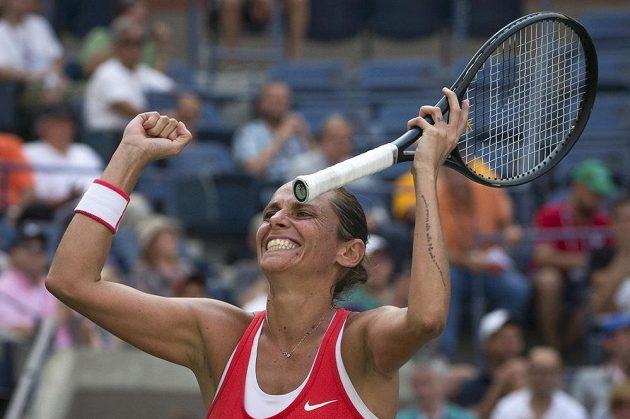 Roberta Vinciová dosáhla na amerických betonech poprvé na semifinále grandslamu.