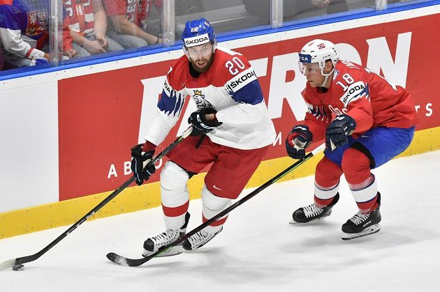 Zleva Hynek Zohorna a Tobias Lindström z Norska.