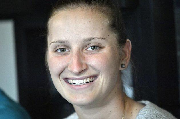 Tenistka Markéta Vondroušová, vítězka turnaje WTA v Bielu a fedcupová reprezentantka, má v poslední době skvělou formu.