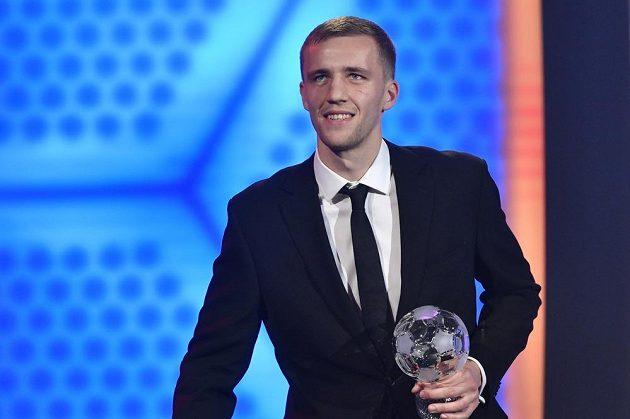 Tomáš Souček obsadil v anketě Fotbalista roku třetí místo
