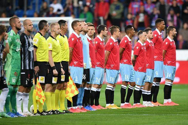 Hráči Plzně nastoupili proti Budějovicím ve speciálních retro dresech v rámci 110. výročí klubu