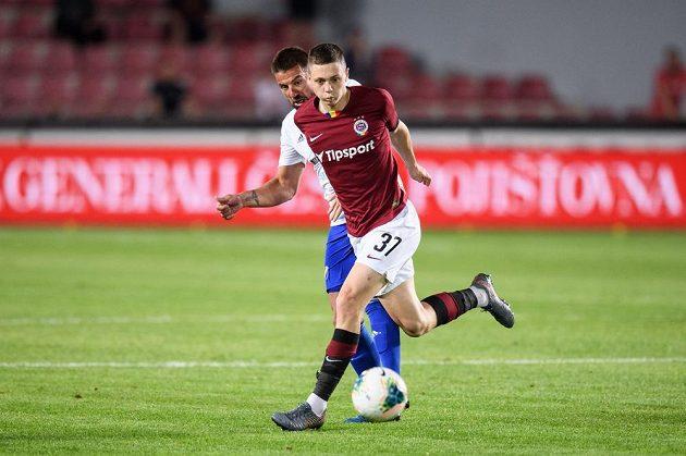 Ladislav Krejčí ze Sparty Praha a Milan Baroš z Baníku Ostrava.