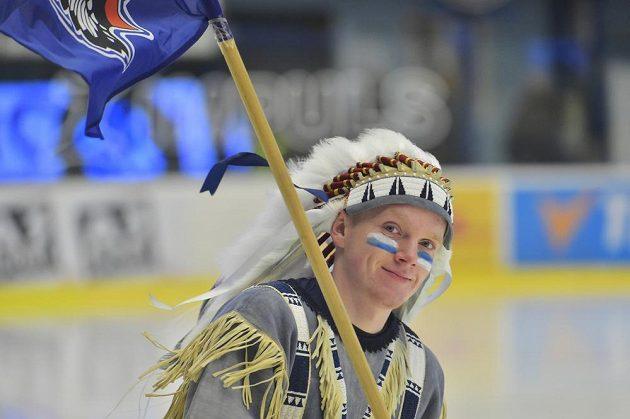 Spokojený indián, maskot Plzně.