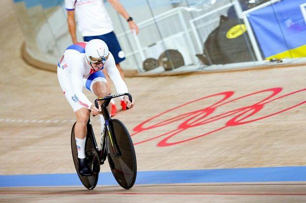 Dráhový cyklista Tomáš Bábek