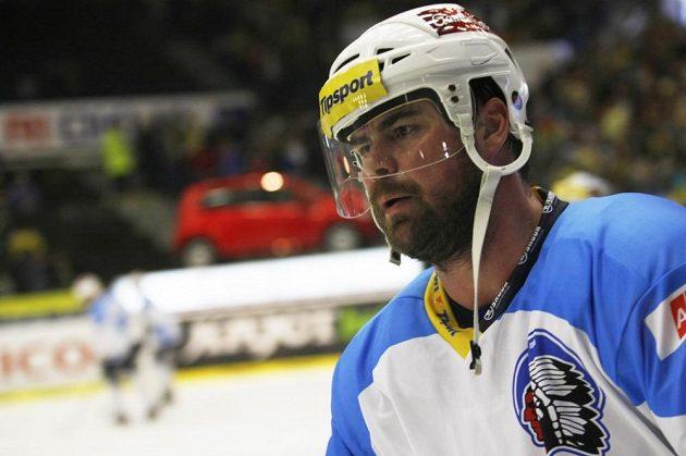 Plzeňský hokejový obránce Jaroslav Špaček v pátém finálovém utkání play off extraligy.