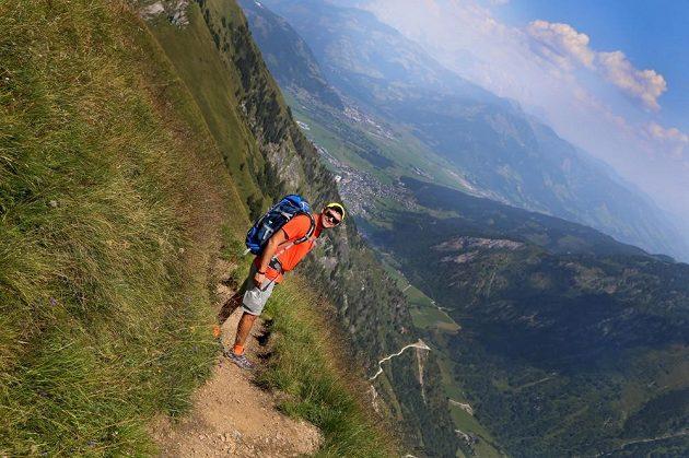 Martin Prokop při tréninku v Rakousku.