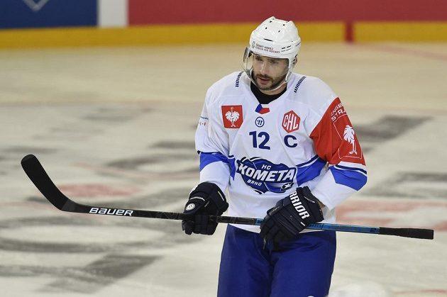 Kapitán Komety Leoš Čermák přispěl k výhře nad Tapparou dvěma góly.