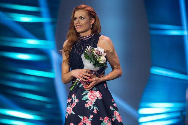 Gabriela Koukalová si průběhu sezóny odskočila na vyhlášení nejlepší české sportovkyně za rok 2016. V celkové pořadí skončila třetí.