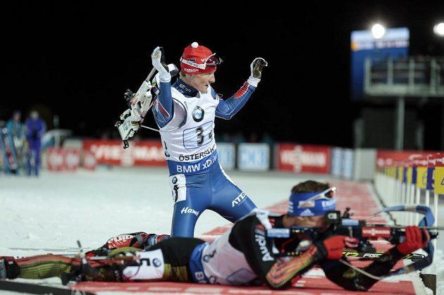 Finišmana Ondřeje Moravce na úvod sezóny ve Švédsku zklamala střelba.