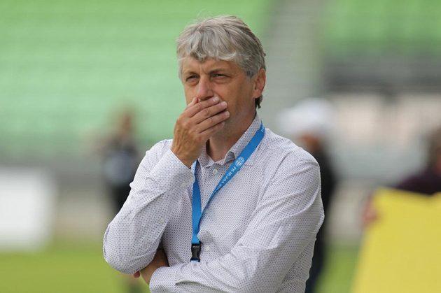 Trenér Boleslavi Jozef Weber.
