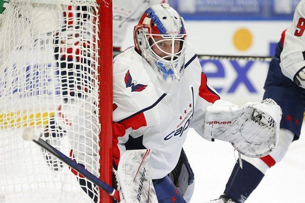 Vítek Vaněček zažil snový vstup do NHL, pochytal hned třicet střel Buffala.