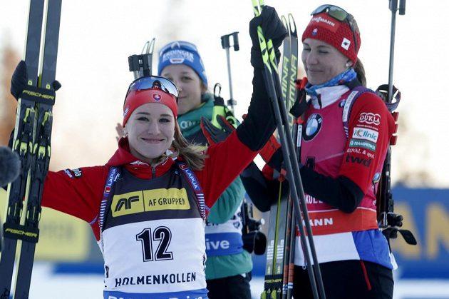 Slovenská biatlonistka Paulina Fialková skončila ve sprintu třetí.