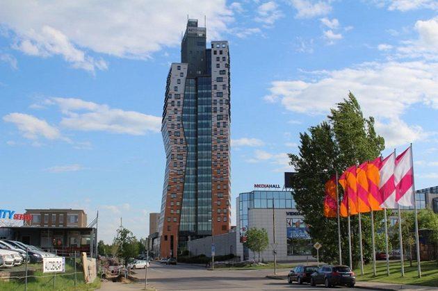 Nejvyšší budova Česka - AZ Tower.