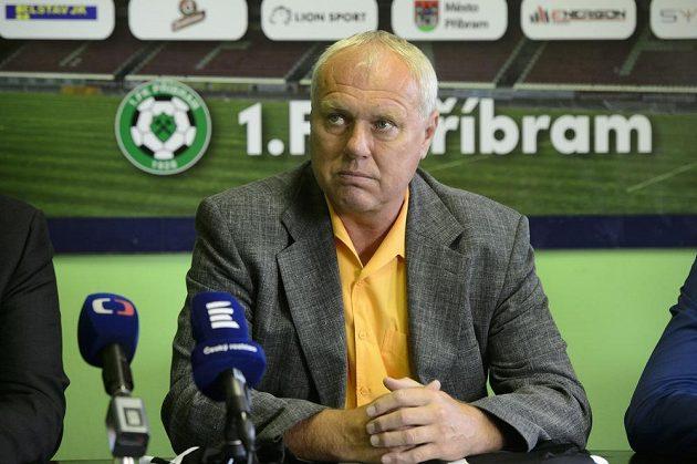 Nový trenér fotbalistů Příbrami Pavel Tobiáš.