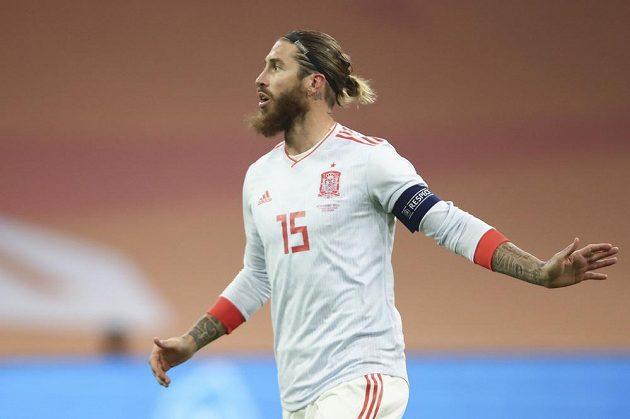 Kapitán fotbalistů Španělska Sergio Ramos