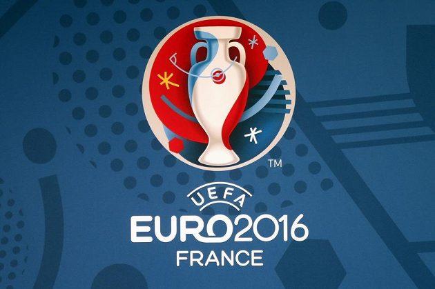 Logo mistrovství Evropy 2016, které se uskuteční ve Francii.