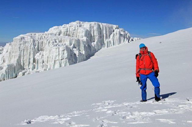 Martin Prokop vystoupal na Kilimandžáro.