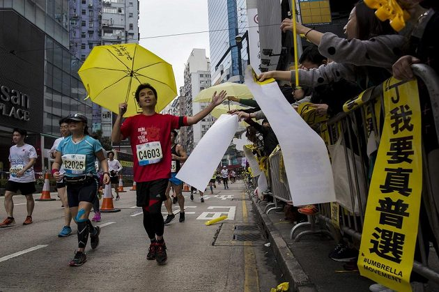 Maratón v Hongkongu proběhl 25. ledna