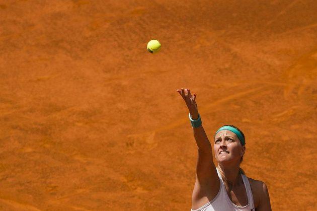 Petra Kvitová má šanci v Madridu obhájit trofej z roku 2011.
