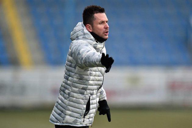Trenér Slovanu Liberec David Holoubek.