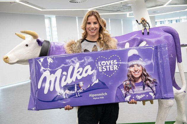Snowboardistka a lyžařka Ester Ledecká představila nové partnery.