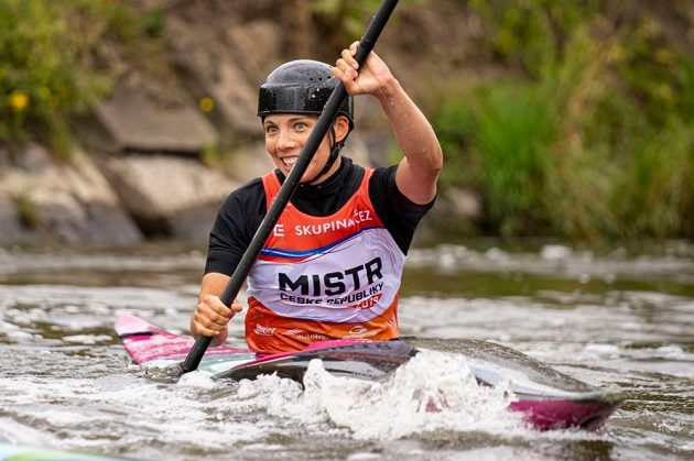 Veronika Vojtová zvítězila ve Veltrusích v kategorii K1.