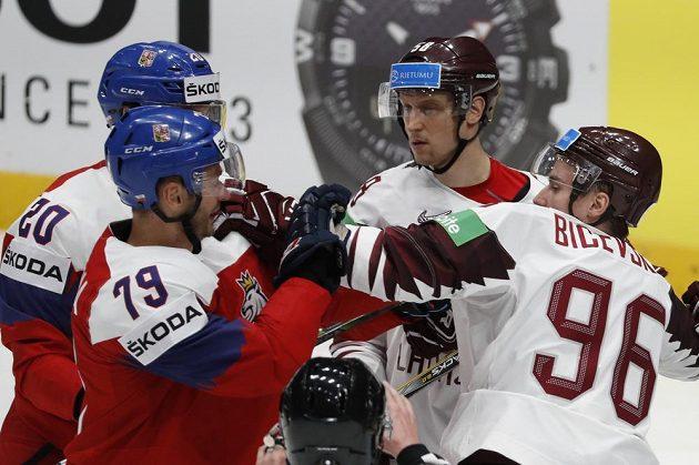 Česko - Lotyšsko. Kdo vyhraje zápas na MS?