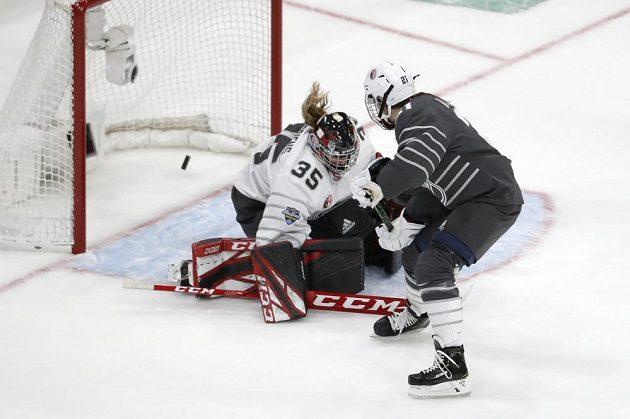 O jediný gól Američanek se postarala Hilary Knightová.