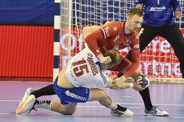 Jonas Gunnarsson Djurhuus z Faerských ostrovů a Dominik Solák z ČR.