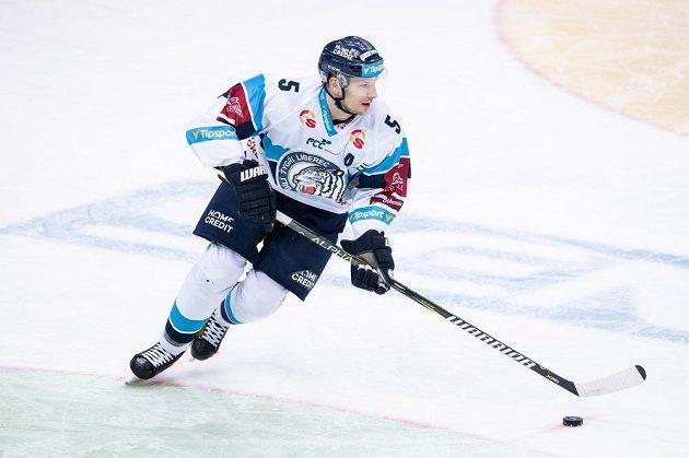 Ladislav Šmíd z Liberce během utkání Tipsport extraligy, HC Sparta Praha - HC Bílí Tygři Liberec, hrané 27. ledna 2019 v O2 Areně v Praze.