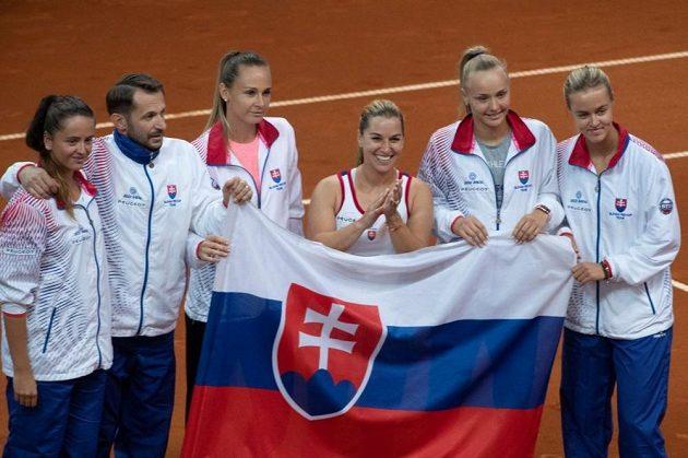 Dominika Cibulková byla hlavní hvězdou zápasu s Brazílií