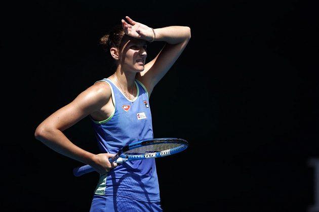 Karolína Plíšková skončila na Australian Open ve třetím kole