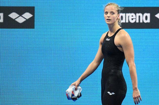 Simona Baumrtová skončila na mistrovství světa v Budapešti v závodě na 200 metrů znak v rozplavbě