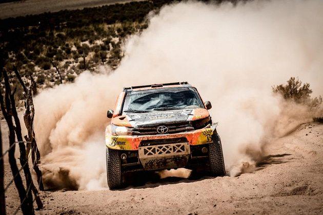 Martin Prokop na trati 5. etapy Rallye Dakar.