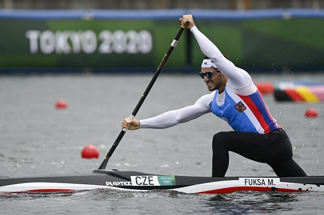 Martin Fuksa ve finále C1 na 1000 m