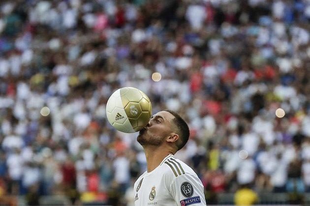 Eden Hazard v dresu Realu Madrid