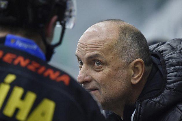 Trenér hokejového Litvínova Vladimír Kýhos.