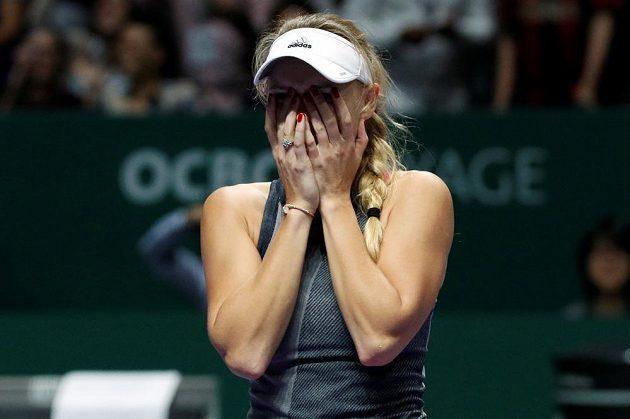 Dánka Caroline Wozniacká porazila na Turnaji misrtryň v Singapuru Američanku Venus Williamsovou.