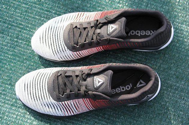 Běžecké boty Reebok Fast Flexweave - pohled shora.