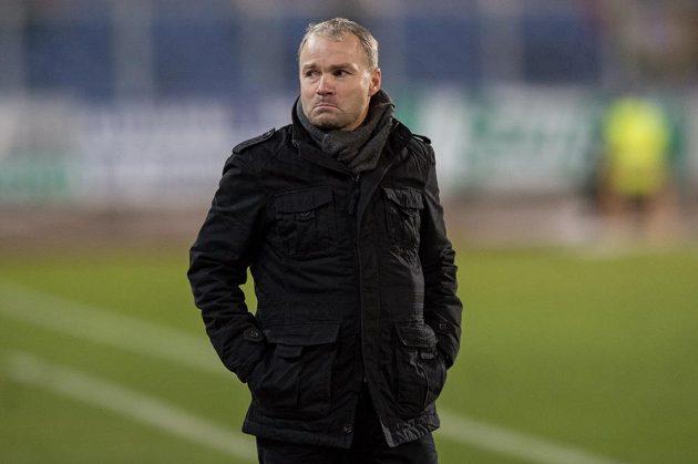 Trenér Baníku Ostrava Radomír Korytář během posledního podzimního zápasu se Spartou.