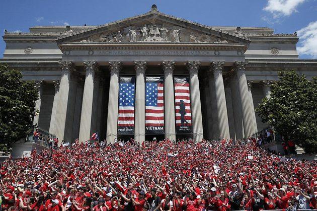 Nadšení fanoušků Washingtonu neznalo mezí.