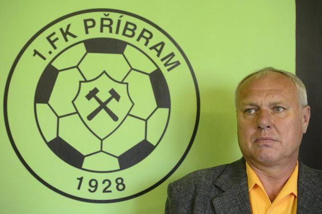 Fotbalisty Příbrami povede trenér Pavel Tobiáš.